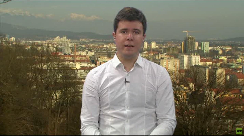 Boris Malagurski donne une interview à RT