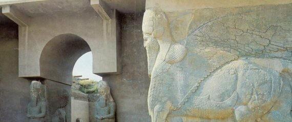 Le site archéologique de Nimroud