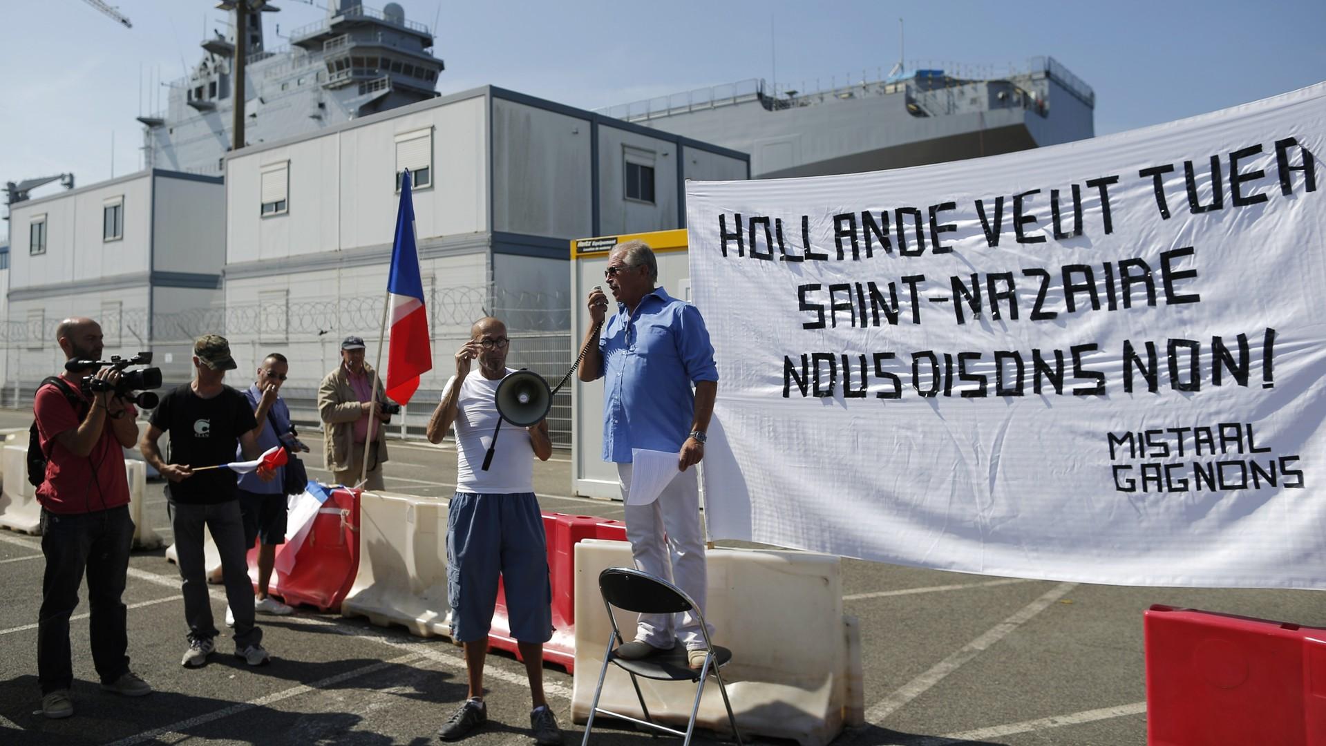 Jacques Sapir : qu'elle livre les Mistral ou non, la France sera perdante
