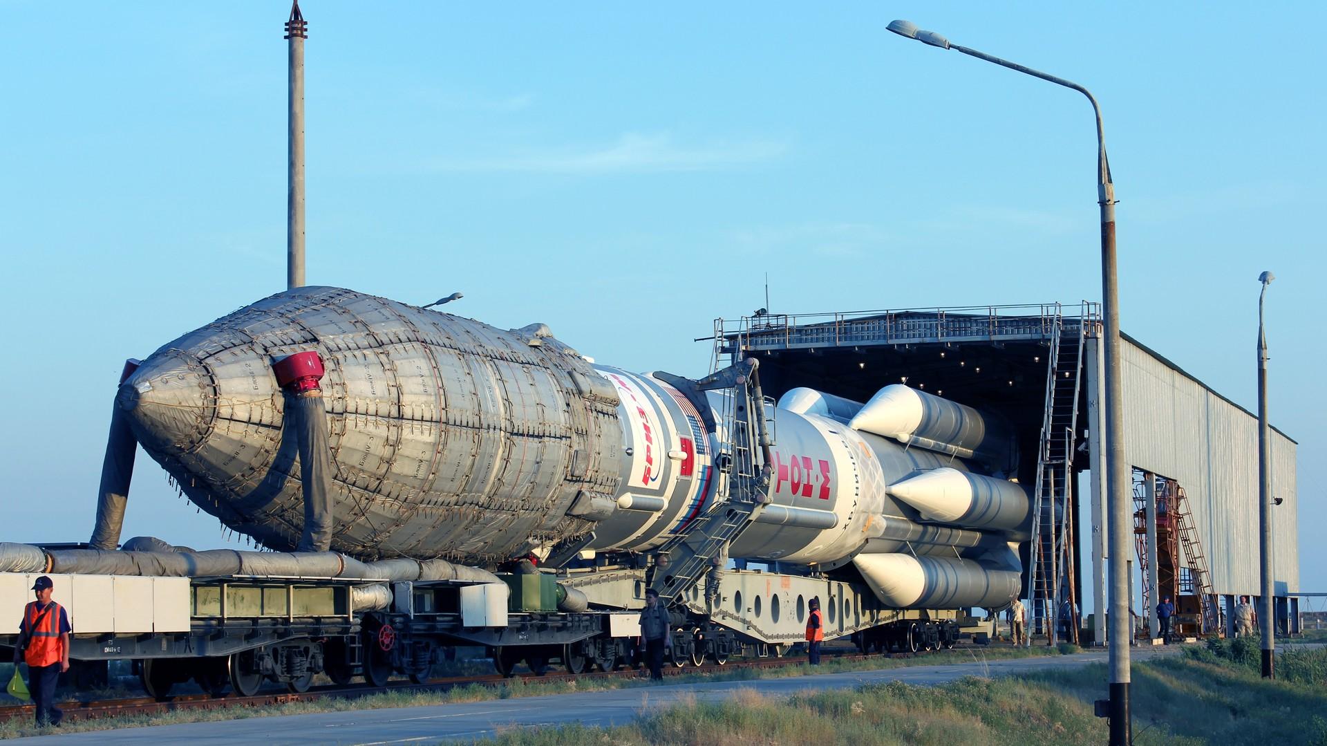 Roscosmos : la fusée Proton et son chargement se sont consumés dans l'atmosphère