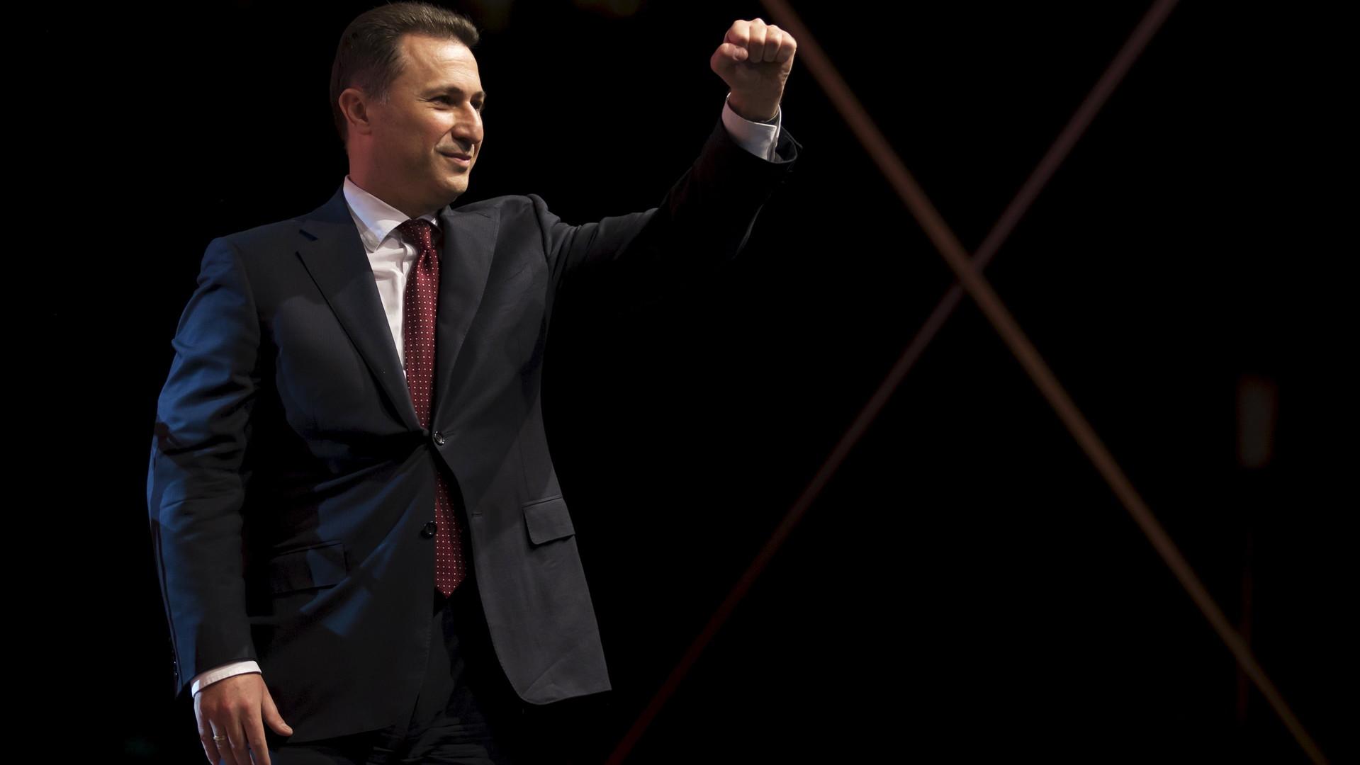 Le Premier ministre macédonien Nicola Gruevski