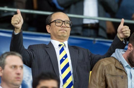 Li Wing Sang, le PDG de Ledus à un match du FC Sochaux en 2015