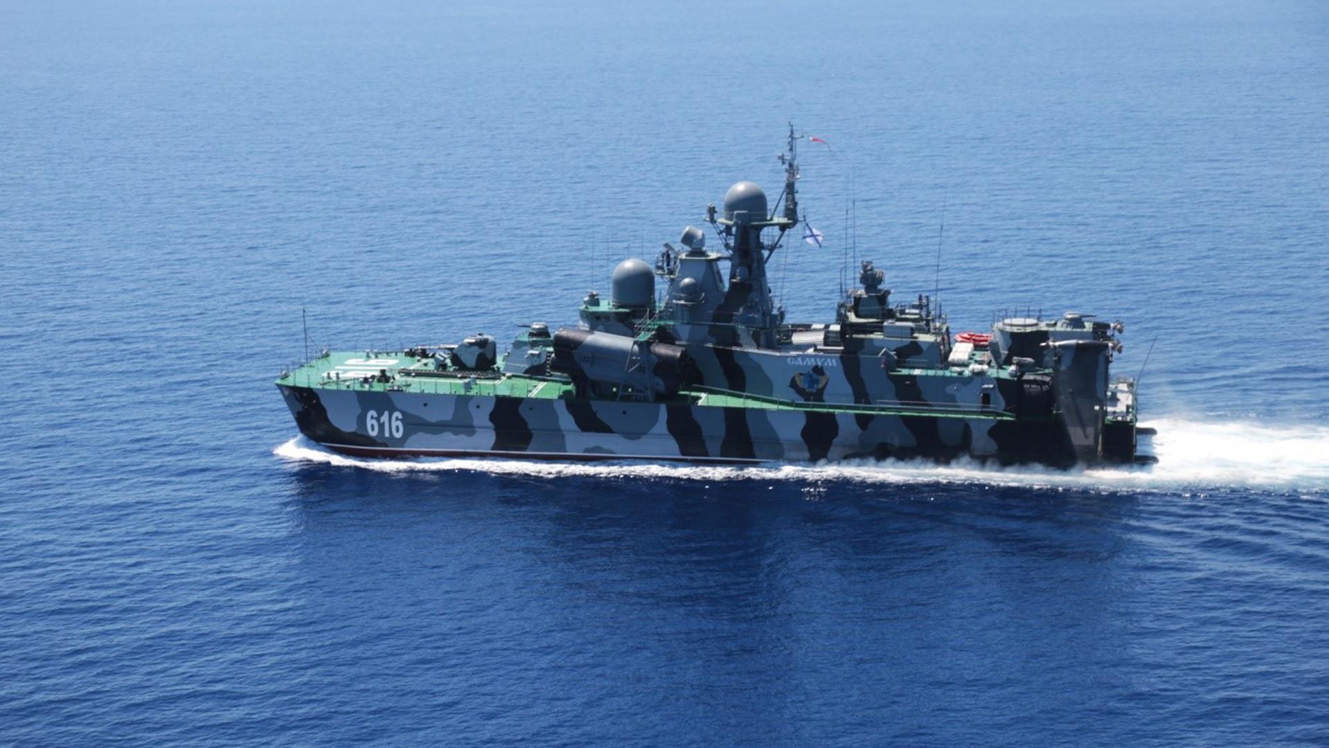La Russie et la Chine effectuent des exercices conjoints en mer Méditerranée