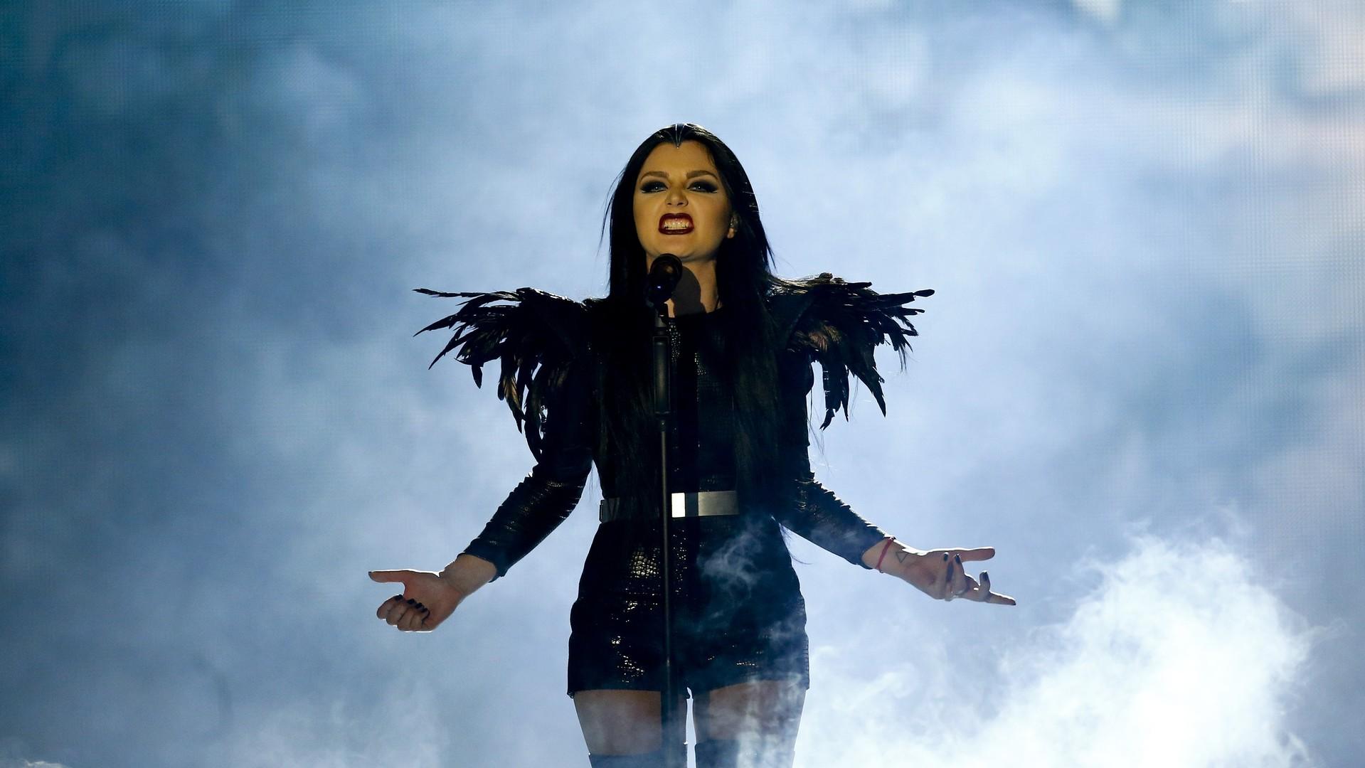 La chanteuse moldave Nina Sublatti