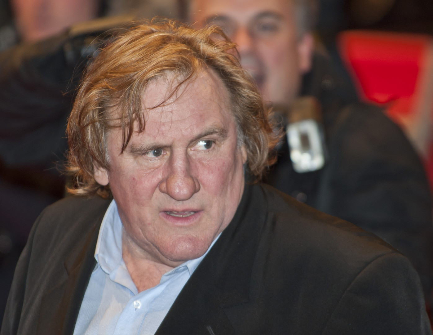 Gérard Depardieu au Festival du Film de Berlin en 2010.