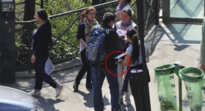 Paris: les pickpockets arrêtés en avaient plein les poches !