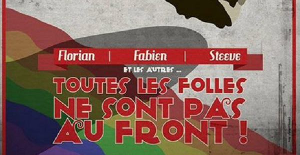 L'affiche de l'association LGBT «Couleurs Gaies»