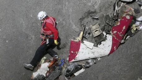 Débris de Germanwings Airbus A320