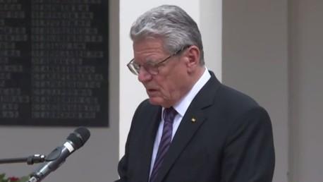 Allemagne : le président Gauck «s'incline» devant l'Armée Rouge pour la victoire sur les nazis