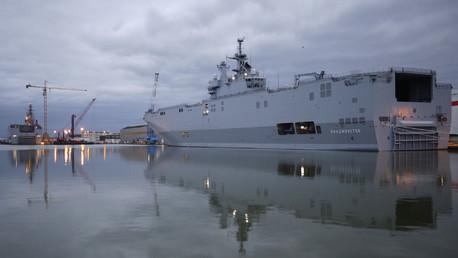 Moscou et Paris entament les négociations sur les Mistral