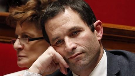 Le député socialiste Benoît Hamon