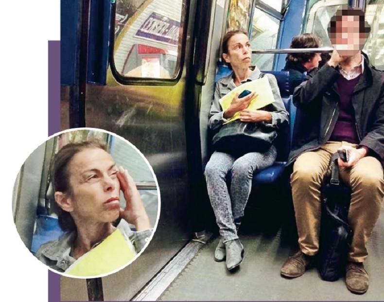 Agnès Saal, plus habituée aux taxis parisiens, découvre le métro