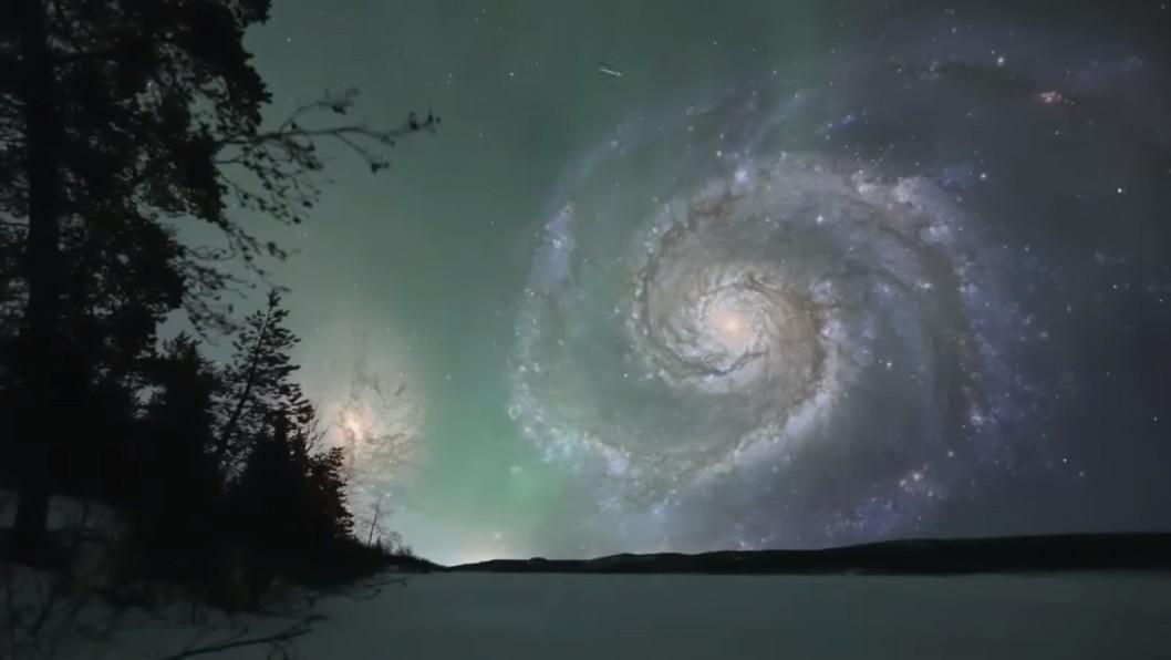 La galaxie du Tourbillon