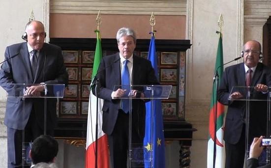 L'Italie, l'Egypte et l'Algérie réunis autour de la question des migrants