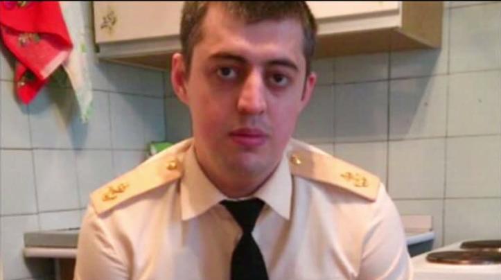 Ilias Kaguirov, le récruteur arrêté, capture d'écran d'une vidéo de RT