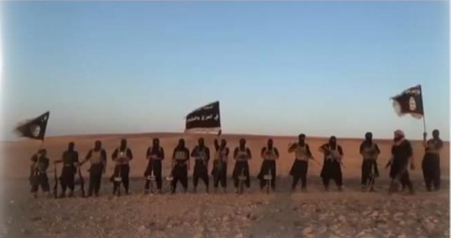 Les combattants de Daesh, capture d'écran d'une vidéo de RT
