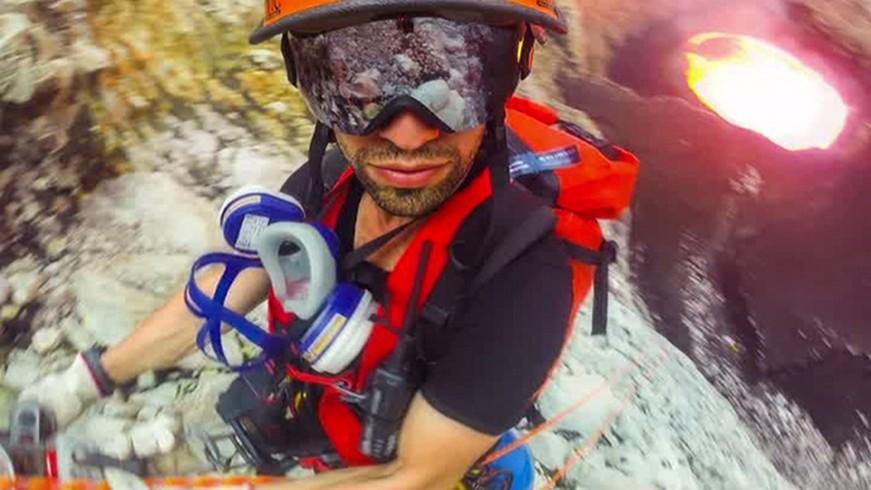 Feux de l'enfer : le cinéaste Sam Crossman est descendu dans le cratère du volcan Marum (VIDEO)