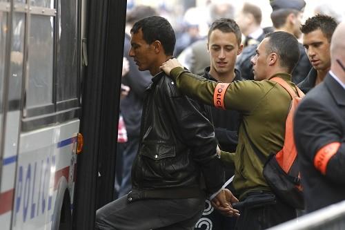 Des Tunisiens arrêtés à Paris en 2011