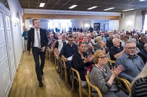 Le parti Populaire Danois de Kristian Thulesen Dahl, est crédité de 18% des intentions de vote
