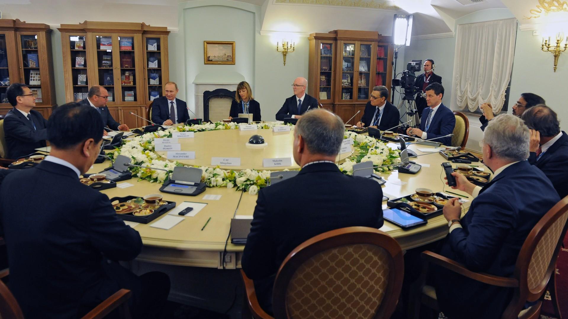 Vladimir Poutine dément l'idée d'une guerre nucléaire