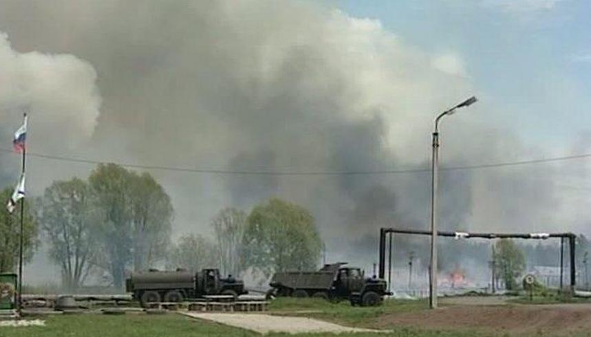 Nouvelle série d'explosions dans un ancien arsenal militaire en Bachkirie