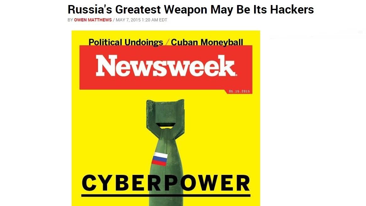 La plus puissante arme des russes, ce sont ses hackers