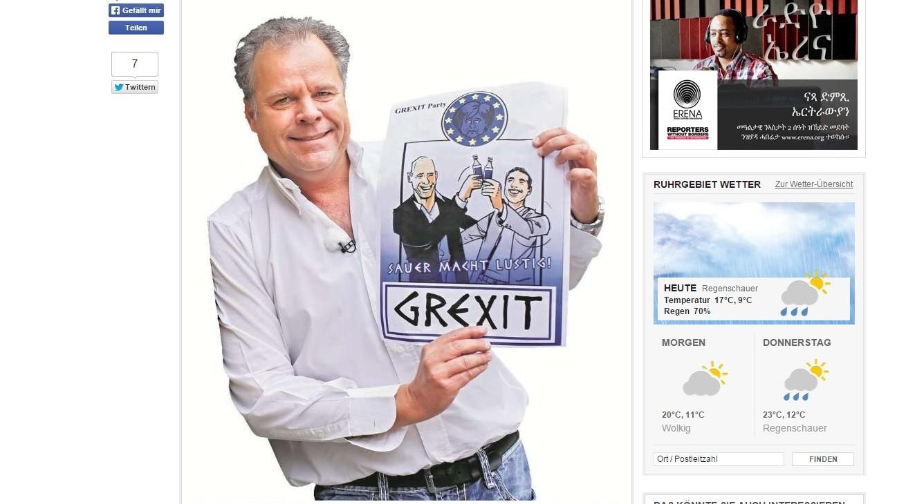 Un verre de «Grexit», s'il-vous plaît