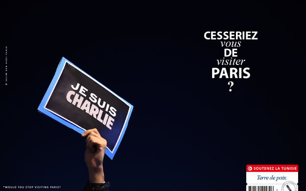 «Cesseriez-vous de visiter Paris?», une campagne insolite de soutien à la Tunisie