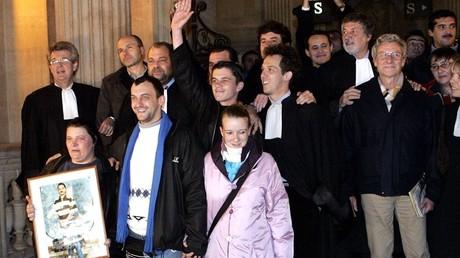 Les acquittés du premier procès d'Outreau en 2005