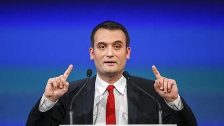 Florian Philippot, numéro deux du Front national