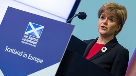 Nicola Sturgeon s'exprime devant le think-tank « European Policy Center » à Bruxelles le 2 juin 2015