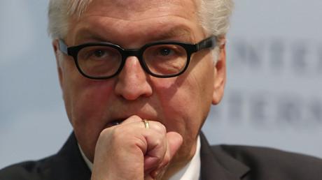 Frank-Walter Steinmeier, le ministre des affaires étrangères allemand