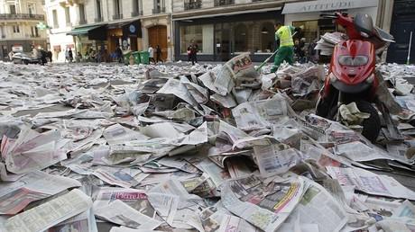 Des journaux français