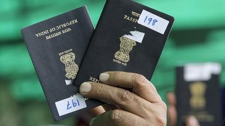 Des passeports indiens