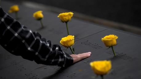 Le mémorial en l'honneur des victimes du 11 septembre
