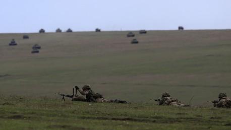 Les exercises militaires de l'OTAN en Roumanie