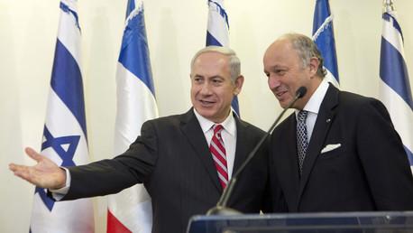 Laurent Fabius accueilli froidement en Israël