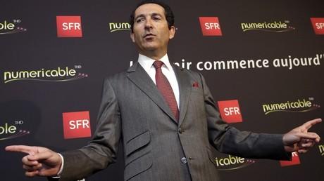 Patrick Drahi, PDG de SFR-Numéricable