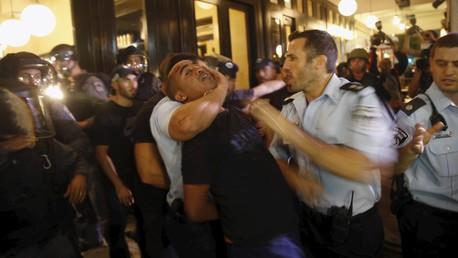 Des affrontements avec la police à Tel Aviv