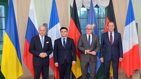 La réunion ministérielle au format Normandie à Paris