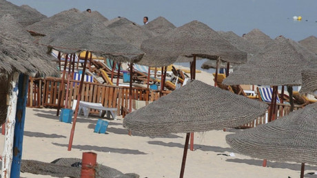 La plage de l'hôtel attaqué en Tunisie