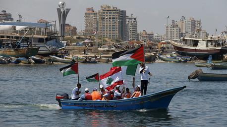 Les Palestiniens fêtent l'anniversaire de la première Flottille