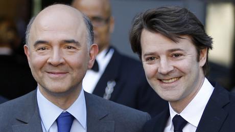 Pierre Moscovici et François Baroin