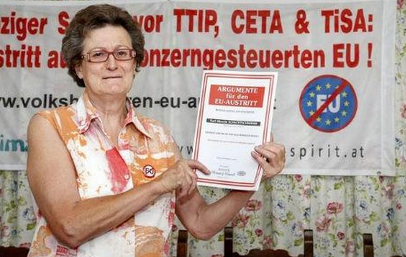 Autriche : 260 000 signatures pour une sortie de l'UE
