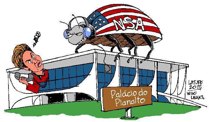 WikiLeaks ne dort jamais : nouvelles révélations sur l'espionnage de Dilma Rousseff par la NSA