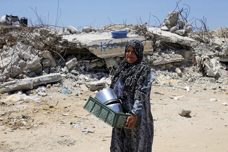 Un an après la guerre, l'inconsolable détresse des gazaouis