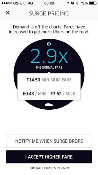 Plus de métro à Londres, Uber fait flamber les prix