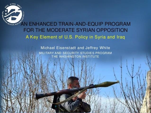 La formation des combattants Syriens par les Etats-Unis mise en doute