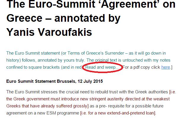 Grèce : «Un nouveau traité de Versailles», l'austérité adoptée malgré les protestations