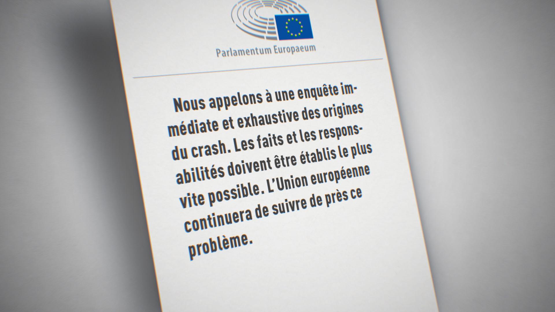 Un communiqué de l'UE
